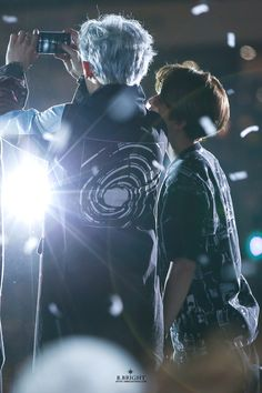 Chanbaek ~ Baekyeol - their height difference is ridiculously adorable