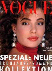 Kelly LaBrock cover of Vogue