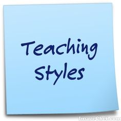 factors that influence teaching style | Teaching Styles ...
