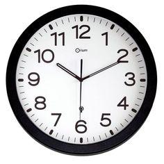 Horloge murale  Méfiez-vous des Zombies Publicité Imprimee Acrylglas