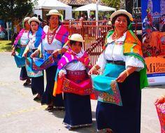 Traditional clothing in Ecuador