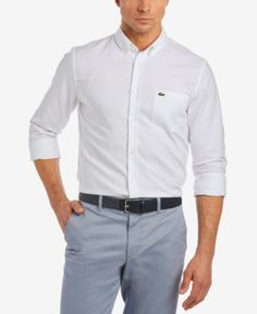 Lacoste Men's Oxford Shirt -