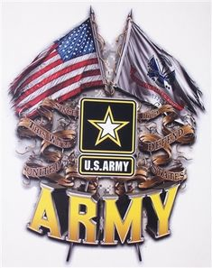 Army Double Flag DecalYou can find Us army and more on our website. Military Mom, Army Mom, Army Life, Army Sister, Anime Military, Police Life, Military History, Us Navy, Army Quotes