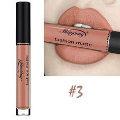 Missyoung Matte Lip Gloss Lips Makeup Lipstick Long Lasting Liquid Cosmetics Makeup