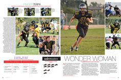 Excellent infographics! Sunny Hills High School yearbook pages 78-79
