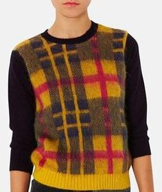 Plaid Sweater.