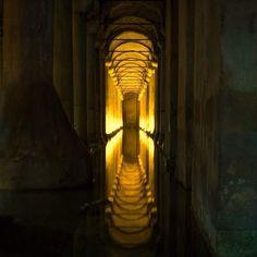 """Basilica Cistern Istanbul  #istanbul #turkey #travel #jetsetter #passport #luggage #holiday #europe #kylieandnikeurope2015 #cistern #roman #history"""