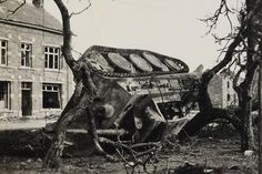 Destroyed Panther-this is how I like to see WWII German armour.