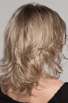 Rubio Flirty señora peluca carnaval peluca rubia Lang señora peluca pelo largo