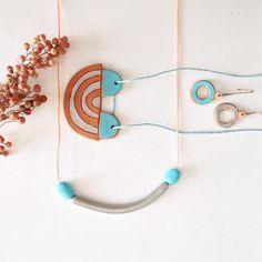 Peppery tides #malahermana #handmade #jewelery #design #ceramics…