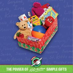 There's still plenty of time to pack your shoe box! National Collection Week is November 12-19th!