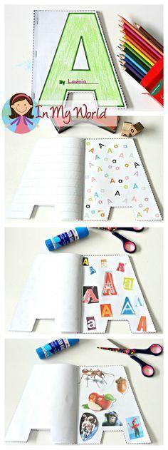 cuaderno letra alfabeto
