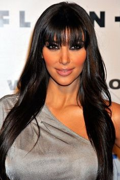 Casual Hairstyle For Women With Long Black Hair