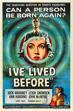 I'VE LIVED BEFORE (1956) reincarnation #poster