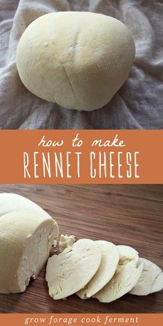 This simple homemade rennet cheese recipe is the perfect introduction to cheese making! This cheese Goat Milk Recipes, Real Food Recipes, Paleo Recipes, Kefir Recipes, Cheese Recipes, How To Make Cheese, Easy Cheese, Simple Cheese Recipe, Making Cheese