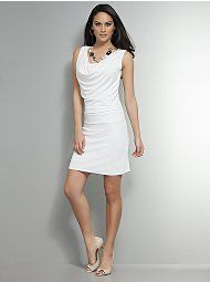 When I achieve my goal, this will be one reward. A white dress, instead of a black dress...<3