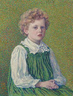 Margery, 1899 - Theo van Rysselberghe - WikiArt.org