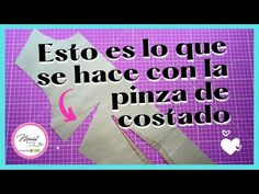 #39 TÉNICA PARA COSER LA PINZA DE COSTADO 😉 - YouTube North Face Logo, The North Face, Youtube, Logos, Sewing, Tech, Vestidos, Sewing Techniques, Clothing Alterations