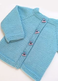 New and Free Baby Knitting Patterns Baby Knitting Patterns Free Newborn, Baby Cardigan Knitting Pattern Free, Knitting Patterns Boys, Baby Sweater Patterns, Knitted Baby Cardigan, Knit Baby Sweaters, Baby Patterns, Toddler Cardigan, Baby Boy Cardigan