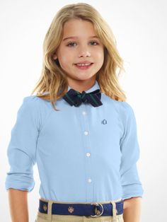 back to school uniform {polo ralph lauren} Back To School Uniform, School Uniform Fashion, School Outfits, Girl Outfits, Cute Outfits, Dress Code, Toddler Fashion, Kids Fashion, 7th Grade Outfits