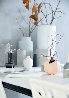 Detail and tablesetting