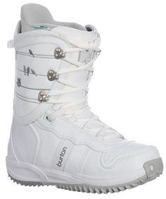 Burton Lodi Snowboard Boots White/Lt Grey