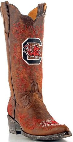 cowgirl boot, carolina gamecock, style, gamecock nation, gameday boot, gamecock fan, cowboy boot, boots, south carolina