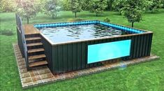 shipping container pool cost shipping container pool for sale the ultimate buying guide shipping container swimming pool shipping container pool cost usa Shipping Container Pool Cost, Shipping Container Home Designs, Container House Design, Shipping Containers, Shipping Container Buildings, Building A Container Home, Storage Container Homes, Iso Container, Container Gardening