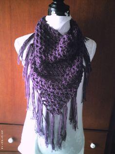 WINTER SALEWas 30 Now 20Crochet Purple Lace Mesh by diannegibson, $20.00