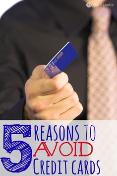 Although credit cards are good to have in case of an emergency you can get yourself into some serious debt. Find out these top reasons as to why you should AVOID having a credit card.