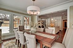 """2013 Parade of Homes """"Dream Home"""" Edina, MN - traditional - dining room - minneapolis - by Spacecrafting / Architectural Photography"""
