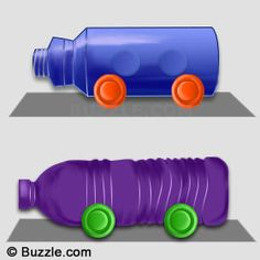 Do you want to make a toy car for your little one? Here are some simple ways you can make one.