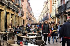 Daily life in Alcalá de Henares. Spain