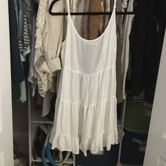 White brandy Melville dress Looking to sell or trade Brandy Melville Dresses Mini