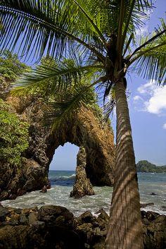 Cathedral Rock at Paria Bay, Trinidad and Tobago