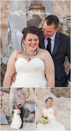 {Real Plus Size Wedding} Desert Love by Casey Hendrickson Photography - The Pretty Pear Bride - Plus Size Bridal Magazine Budget Wedding, Wedding Tips, Trendy Wedding, Perfect Wedding, Wedding Planning, Wedding Story, Wedding Details, Dream Wedding, Wedding Dresses Plus Size