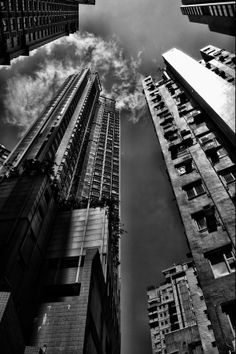 HK look up by Alice Chan on 500px