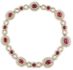 Jackie Kennedy Onassis' Ruby and Diamond Necklace