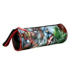 Estuche portatodo cilíndrico de LOS VENGADORES de Marvel