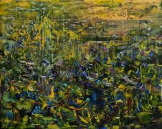 Ali Banisadr. Title: Untitled (2011). Oil on Panel. 16x20 inches.