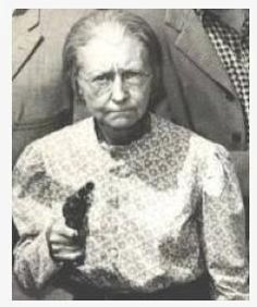 A woman is never to old to be A Well Armed Woman! Get'em Granny!