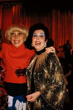 Carol Channing and Ann Miller
