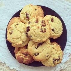 Cookies aux raisins secs sans gluten