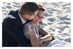Eva Lesalon  Photographe Mariages  à Bordeaux Arcachon  - Blog mariage  - Séance photo After Day dans les vignes et à la plage