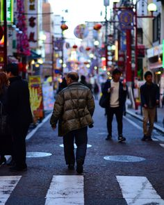 Where are you going mate #evening #people #japan #chinatown #blue #streetphotography