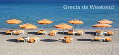 Photo about Greece. Orange chairs and umbrellas on the beach. Image of relaxation, ocean, recliner - 15052704 Kefalos Beach, Greece Kos, Beach Mat, Orange Chairs, Highlights 2014, Aqua, Outdoor Blanket, Relax, Ocean