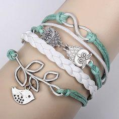 Cute owl braided bracelet By Lvdream sun Handmade Jewelry - Community - Google+