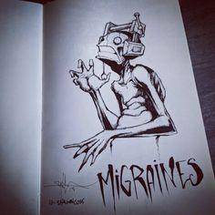 Creepy Drawings, Dark Art Drawings, Cool Drawings, Arte Horror, Horror Art, Dark Art Illustrations, Illustration Art, Cura Interior, Mental Health Art