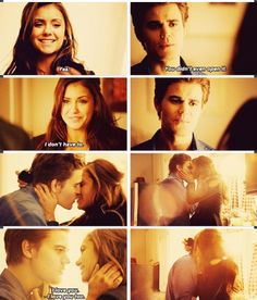 The vampire diaries stelena  stefan  elena the vampire diaries 2014 tvd 5x18 perfect lovestory