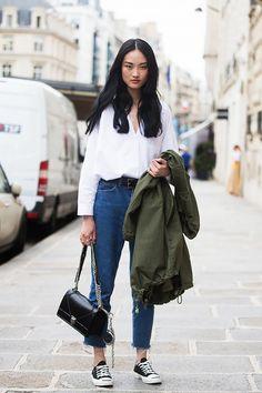 Image of 只要擁有 1 條高腰牛仔褲,已經可以襯出 11 個時尚造型